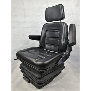 Tractor Backhoe Seat Drivers Seat Basic Eco Pvc