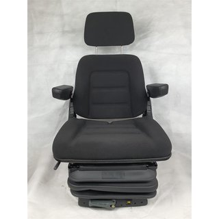 Tractor Backhoe Seat Drivers Seat Basic Eco Fabric