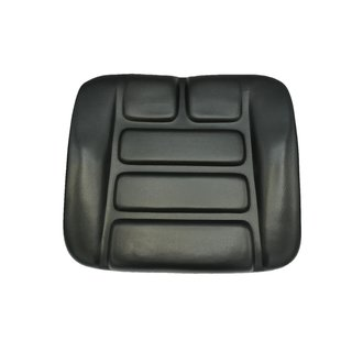 Seat Cushion Seat Pillow fits Grammer DS85 / 90 AR PVC Black Tractor Forklift